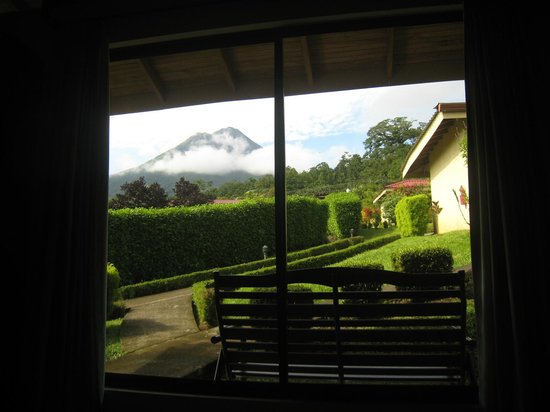 Arenal Volcano Inn: View from Deluxe Room