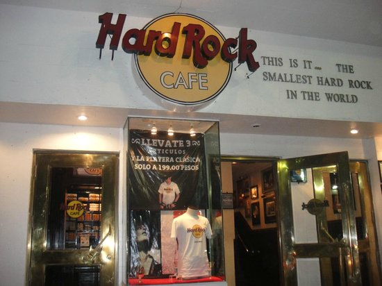 Hard Rock Cafe Cozumel: O menor Hard rock do mundo