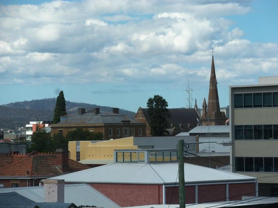 The Waratah Hotel: view from room 2