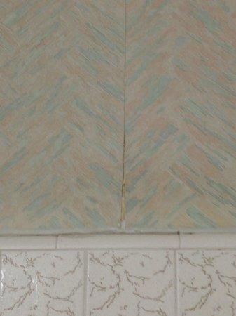 Ramada Marina Del Rey: Peeling wallpaper.