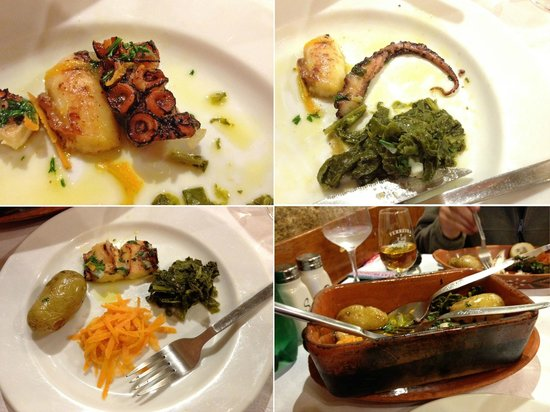 Ora Viva Restaurante: Baked octopus parts