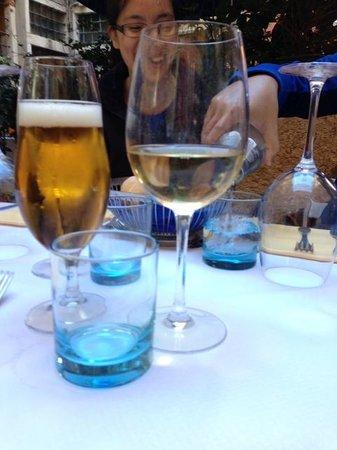 Table setting, La Gondola  |  Centro Storico calle de le Rasse No. 4611, Venice, Italy