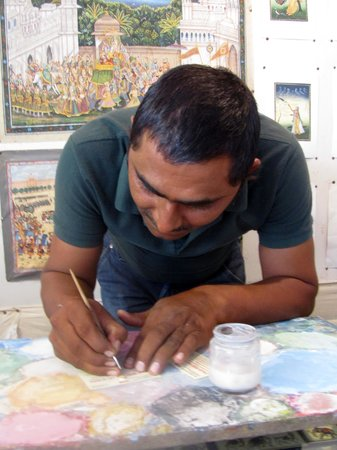 Umaid Heritage Art School: Vijay