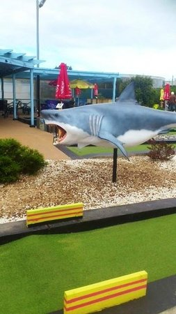 I had a great day with the family at West Beach Mini Golf. Probably the best course in SA