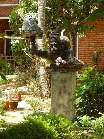 Dr. Franklin's Panchakarma Institute and Ayurveda Centre: Внутренний дворик..