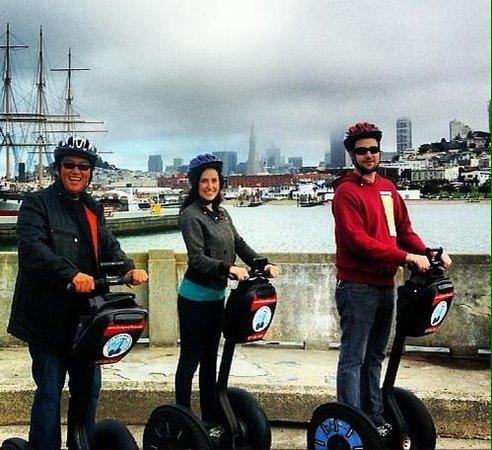 City Segway Tours San Francisco: Thumbs up!