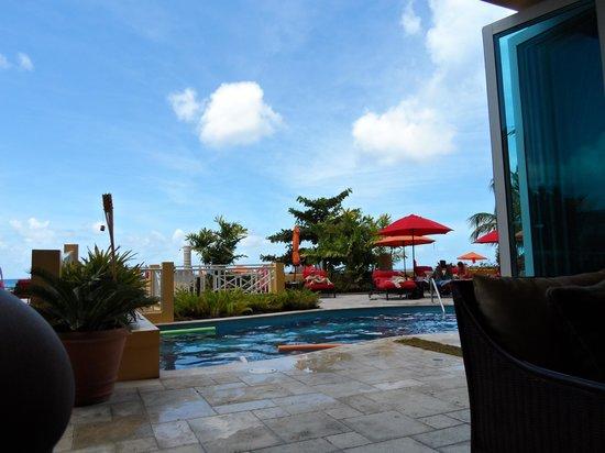 Ocean Two Resort & Residences: inside looking out