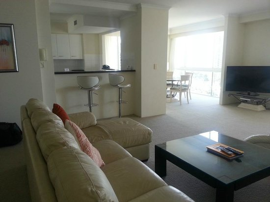 Xanadu Holiday Resort: View inside the apartment