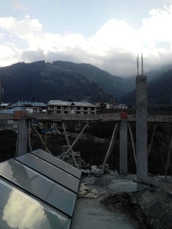 Hotel Mountain Face by Snow City Hotels : View from Second Floor (Under Constructed)