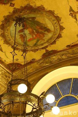 Bernini Palace Hotel: 朝食ルームも華やか