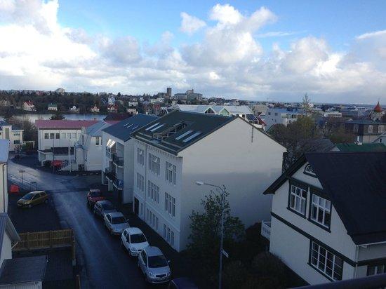 Hotel Holt: Вид с балкона 1