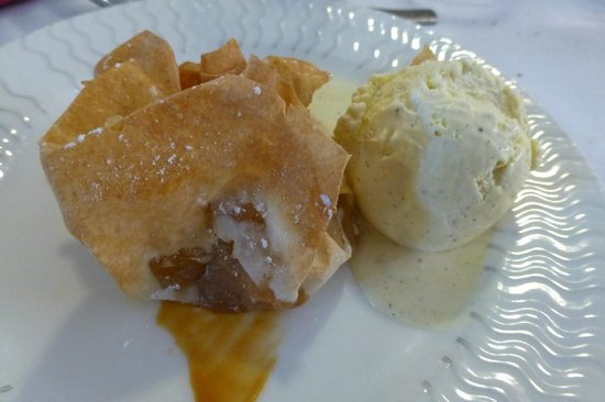 Le Caussea : Un dessert