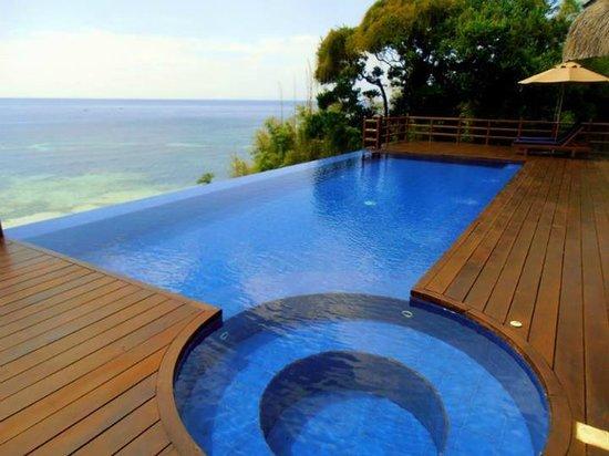 Eskaya Beach Resort Spa Infinity Pool Merges With The Sea