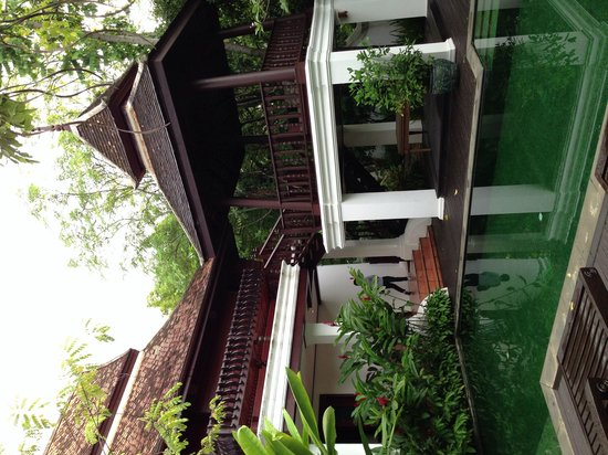 The Dhara Dhevi Chiang Mai: Thai Style villa with private pool