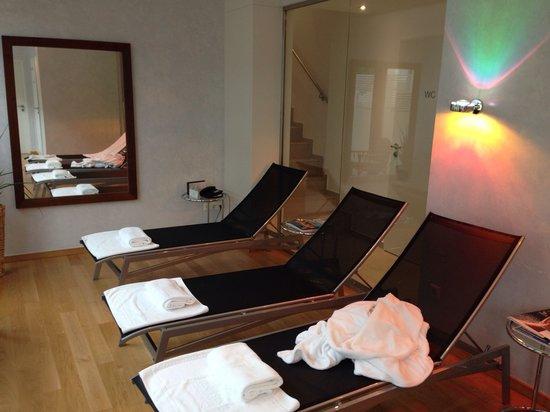 Hotel Stadt Freiburg: Sauna