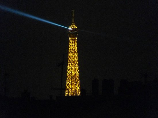 Arty Paris: Eiffel Tower as seen from Room No. 503