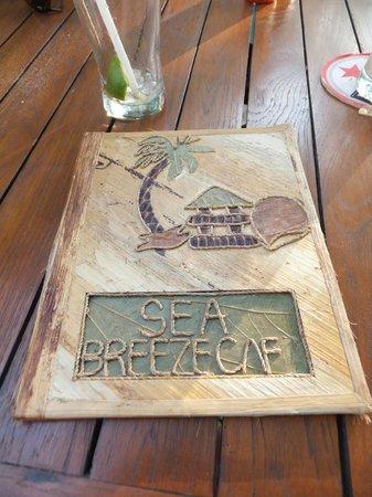 Sea Breeze Cafe : Seabreeze Cafe menu