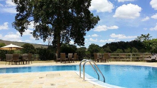 Neptune Mara Rianta Luxury Camp: Poolside