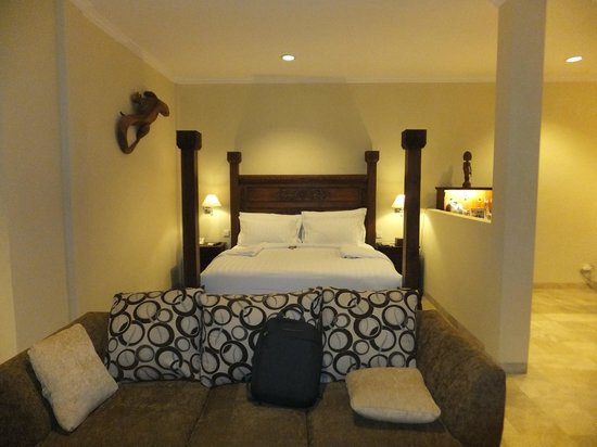 Ayung Resort Ubud : Bedroom within our Princess Suite