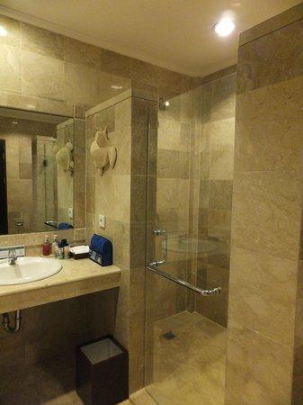 Ayung Resort Ubud : Bathroom with our Princess Suite