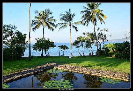 Alila Manggis : View on the sea from everywhere