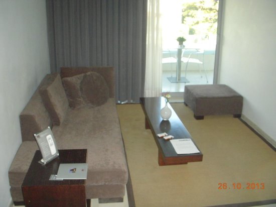 Brasil Suites Hotel Apartments: Suite living room!!