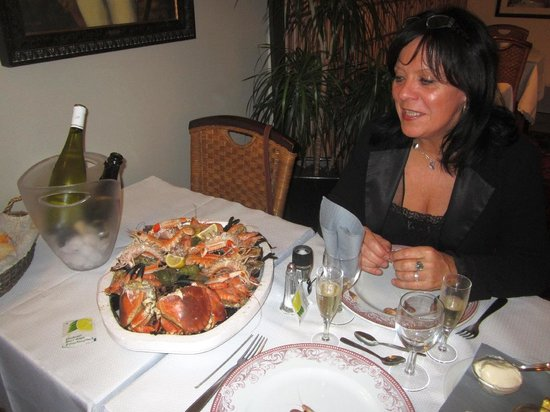 Be Cottage: Le plateau de fruits de mer