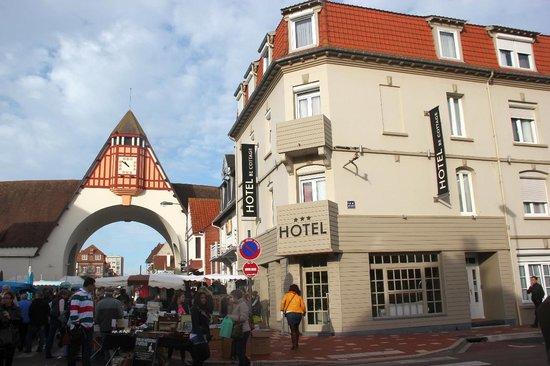 Be Cottage : L'hôtel, un jour de marché
