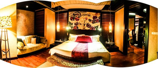 Amarterra Villas Bali Nusa Dua - MGallery Collection : bedroom at night