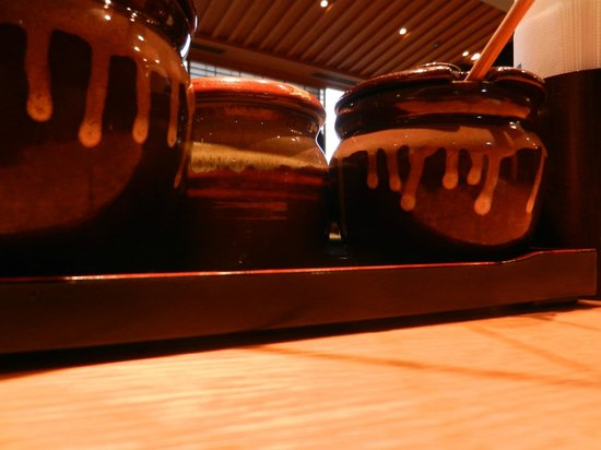 Katsukura, Kyoto Station Bldg The Cube: Choose your sauce!!!