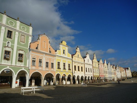 Historic Centre of Telc: ♥ 絵になる風景 ♥