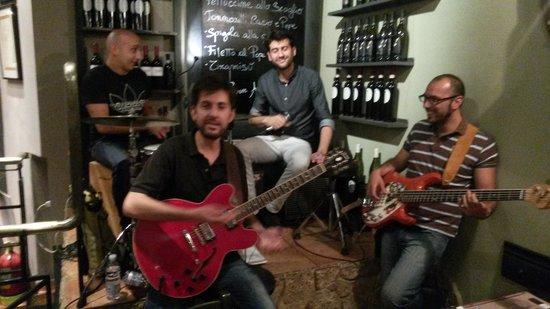 Enoteca Barberini: Live Music