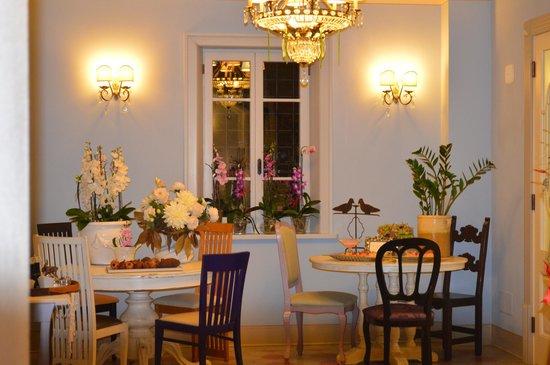 Borgomela: il favoloso ingresso del ristorante