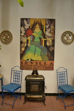 El Rey Moro Hotel Boutique Sevilla: Particolari dell' albergo, tipicamente andalusi