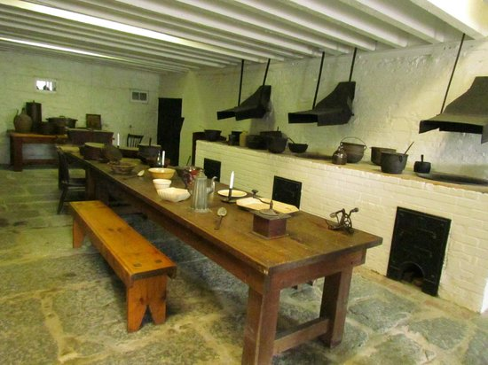 Fort Henry (Fort Henry National Historic Site): Different Living Quarters at Fort Henry