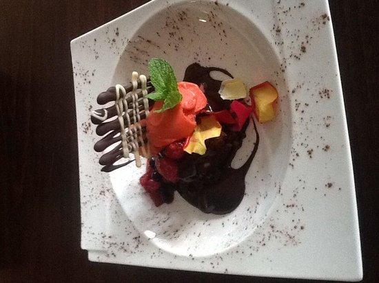 Restaurante Lasarte: Brownie
