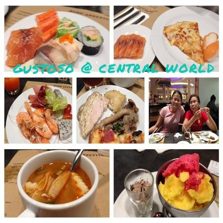 Gustoso at Central World: Gustoso dinner buffet