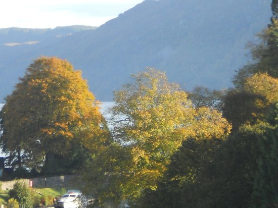 The Lovat, Loch Ness: Another view from our room