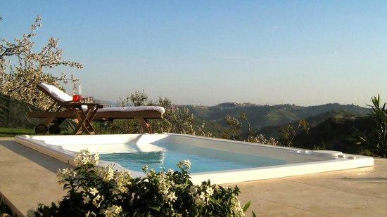Alta Perugia B&B : Vasca idromassaggio