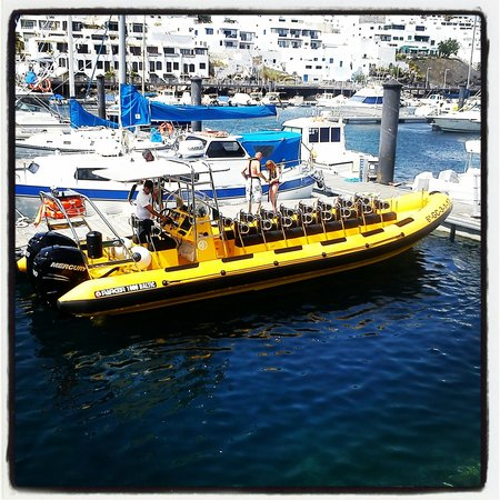 Waverider Lanzarote- Day Tours : Here is the bad boy 600hp!!