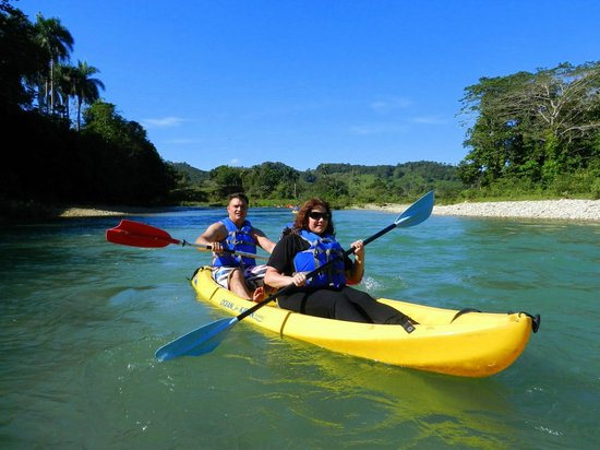 Villas Agua Dulce : canoe