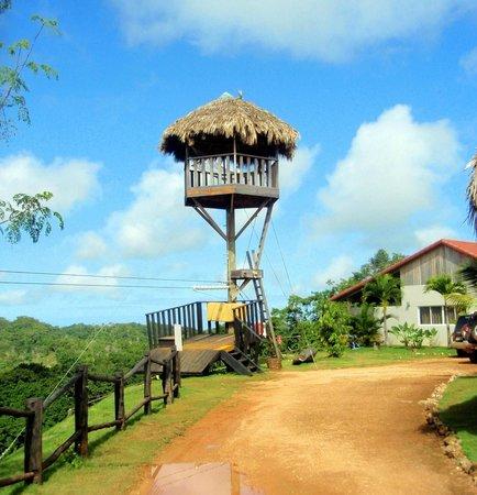 Villas Agua Dulce : zipline