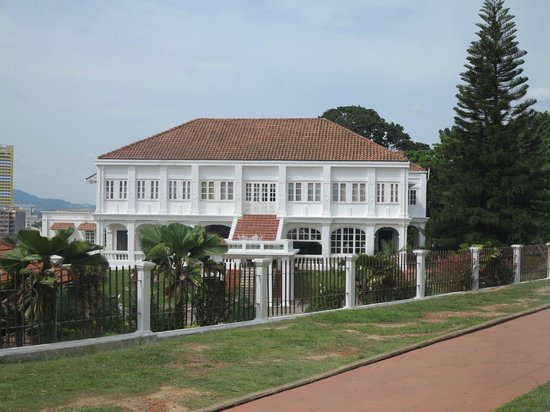 A Famosa Fort: one of the sceneries there