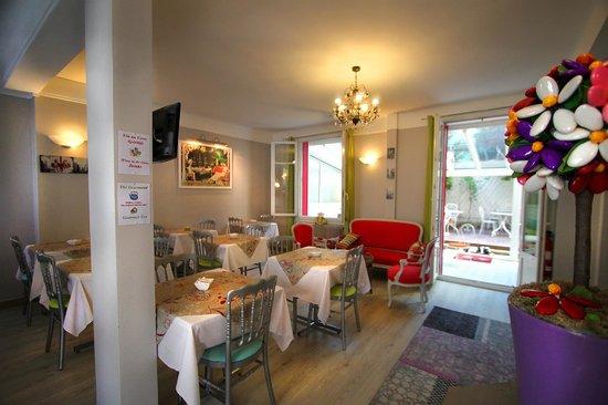 Hotel Villa Sorel: Notre salon petit-déjeuner