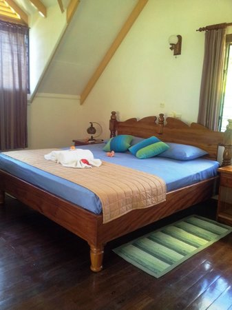Chalets d'Anse Reunion : la chambre