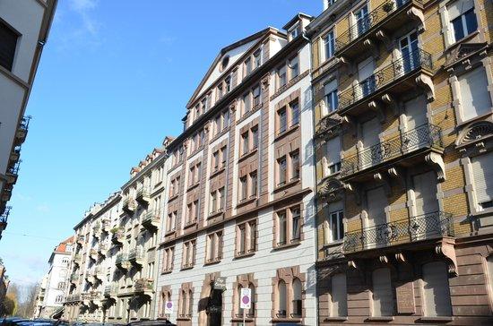 Hotel Cap Europe: Façade extérieure