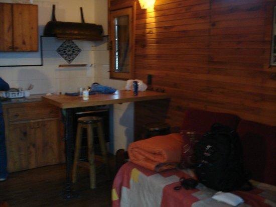 Posada al Sur : Cozinha privativa