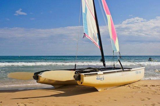 SENTIDO Aziza Beach Golf & Spa: Didn't use it but I believe it was free.
