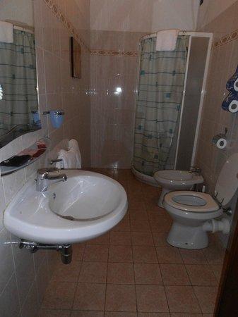 Hotel Enza: Baño