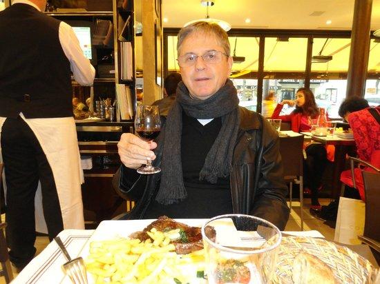 Le Malakoff: Bom vinho